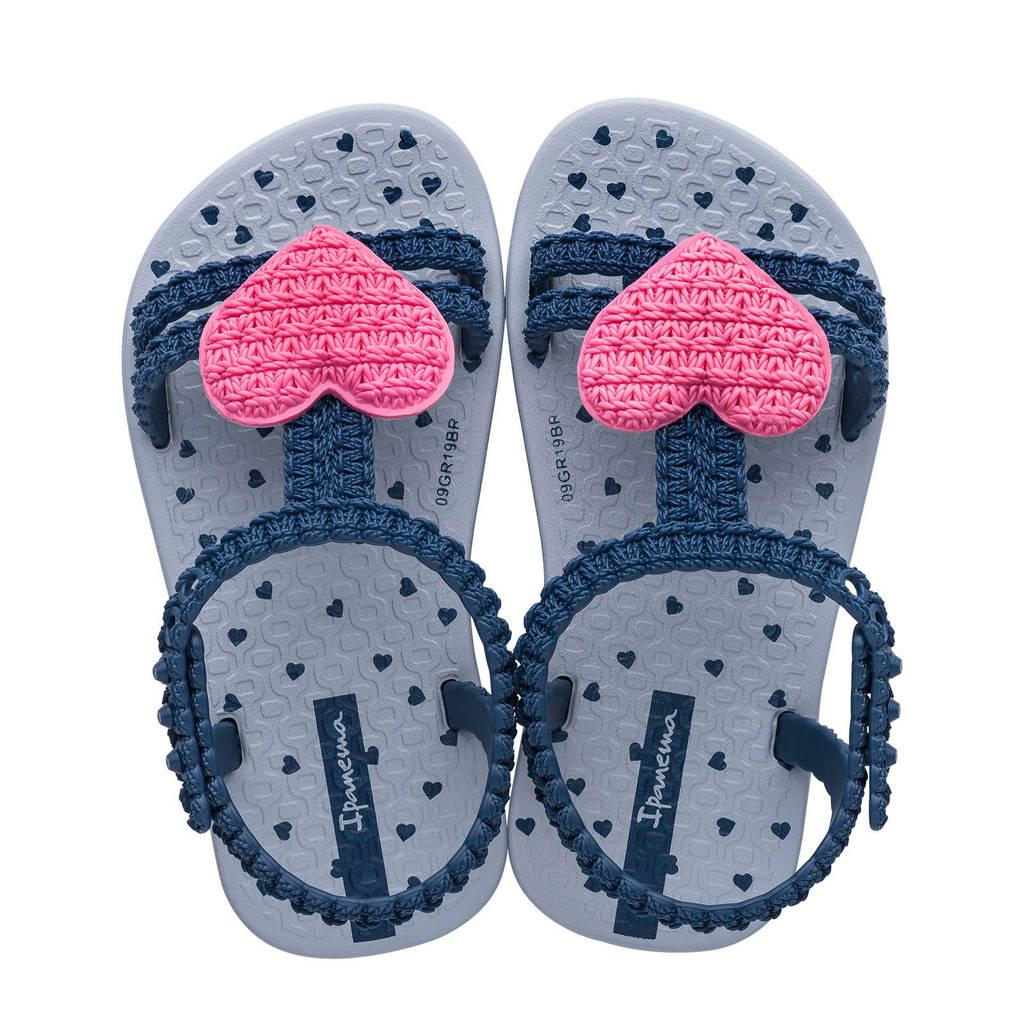 Ipanema My First Ipanema  teenslippers donkerblauw/roze, Donkerblauw/roze