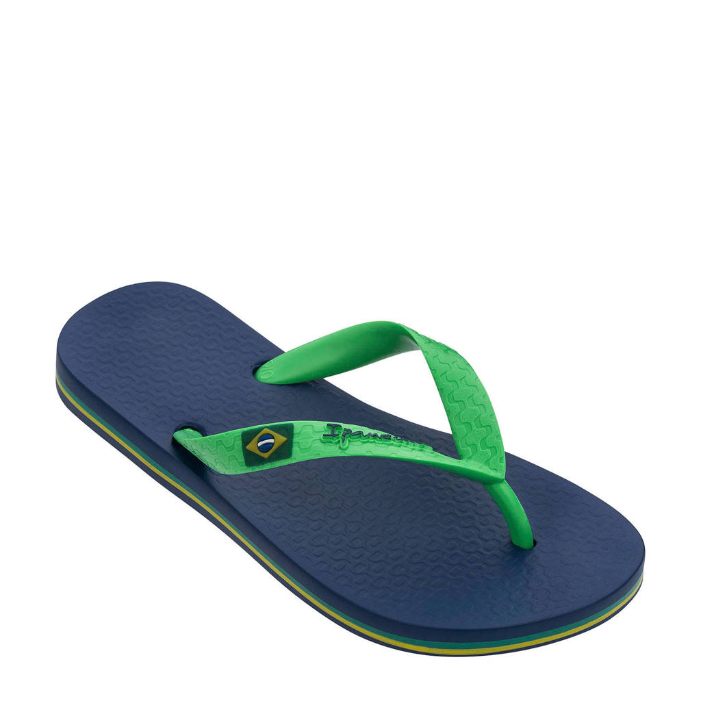 Ipanema  Classic Brasil teenslippers blauw/groen, Blauw/groen