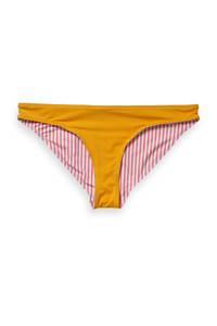 Scotch & Soda reversible bikinibroekje geel/rood, Geel/rood