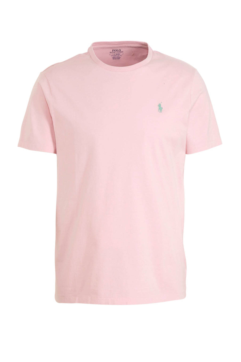 POLO Ralph Lauren T-shirt met logo zalm, Zalm