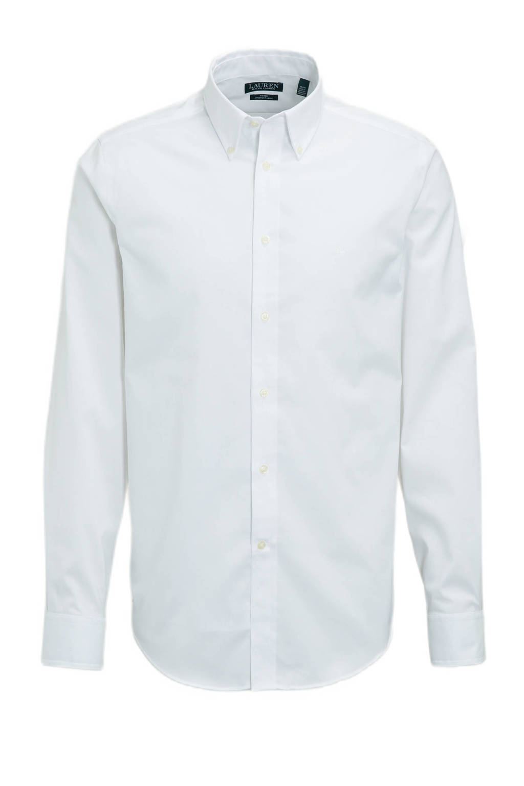 POLO Ralph Lauren slim fit overhemd wit, Wit