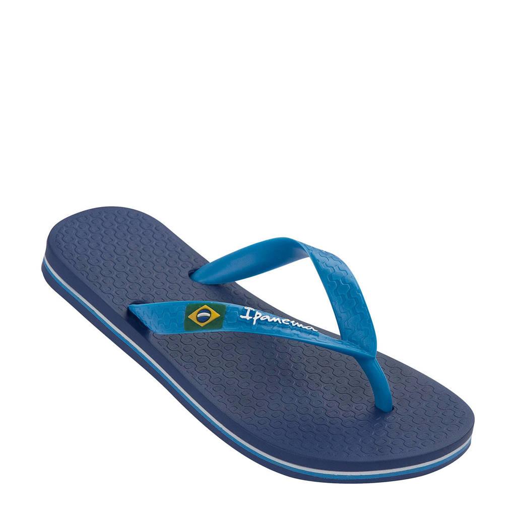 Ipanema  Classic Brasil teenslippers blauw, Blauw