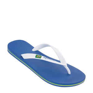Classic Brasil teenslippers blauw/wit