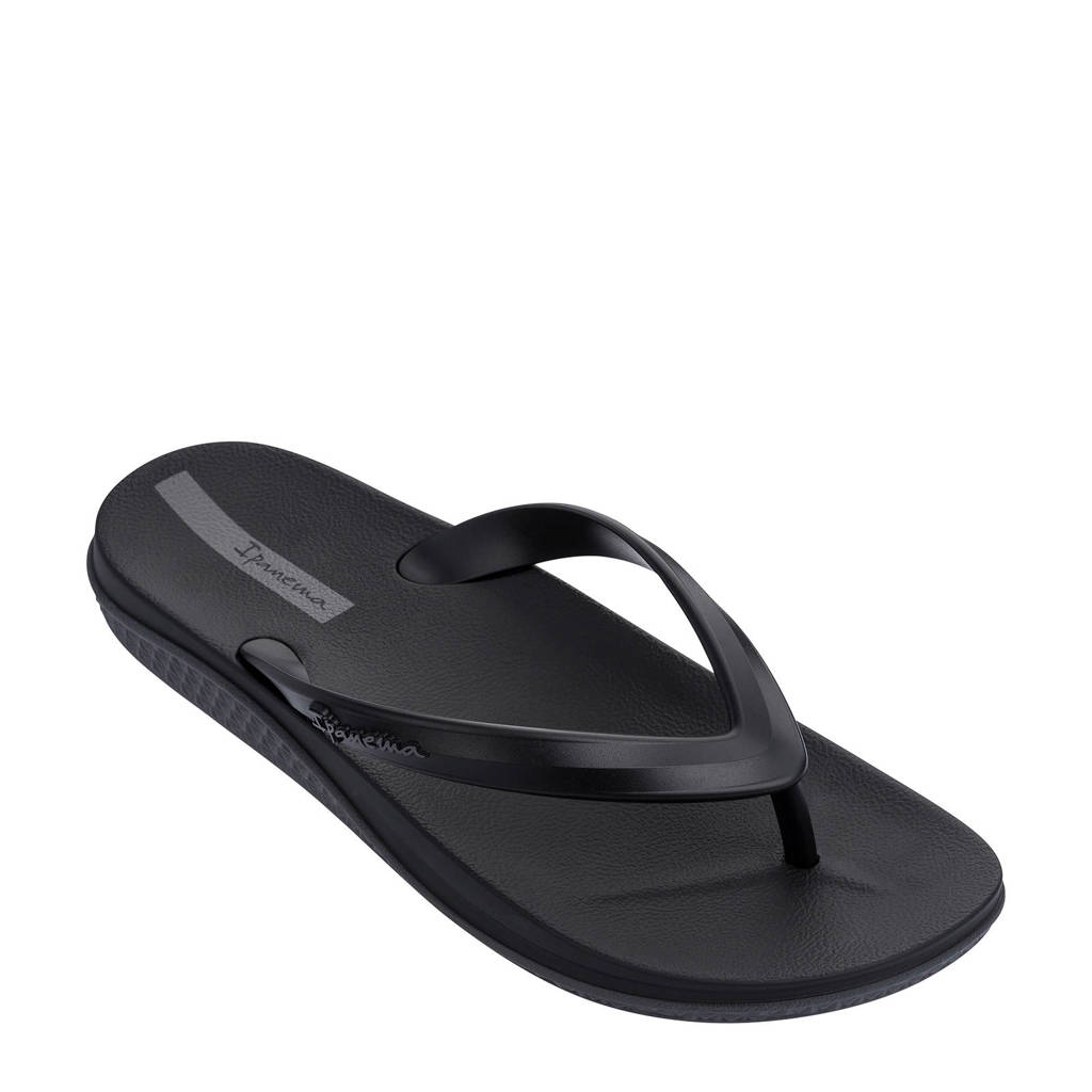 Ipanema Anatomic Lapa   teenslippers zwart/antraciet, Zwart/antraciet