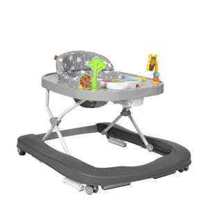 2-in-1 loopstoel Lexi met elektronisch speelblad grey