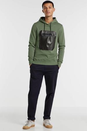 hoodie donkergroen