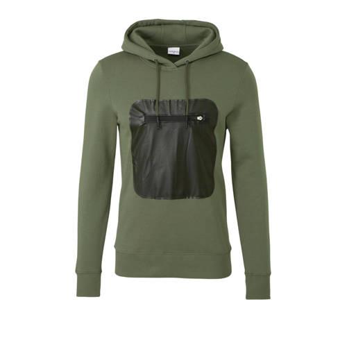Purewhite hoodie donkergroen