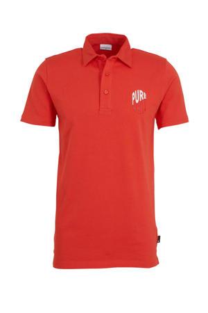 polo met logo rood