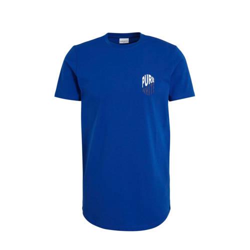 Purewhite T-shirt blauw