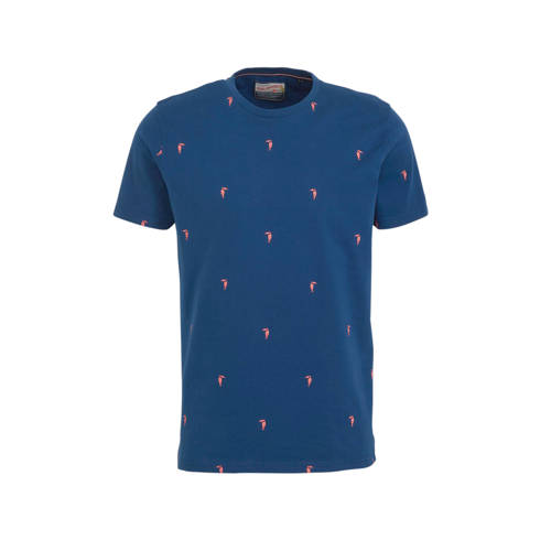 Petrol Industries T-shirt met all over print donke