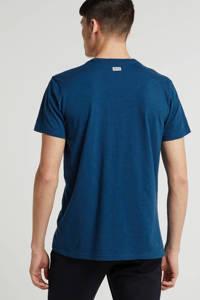 Petrol Industries T-shirt blauw, Blauw