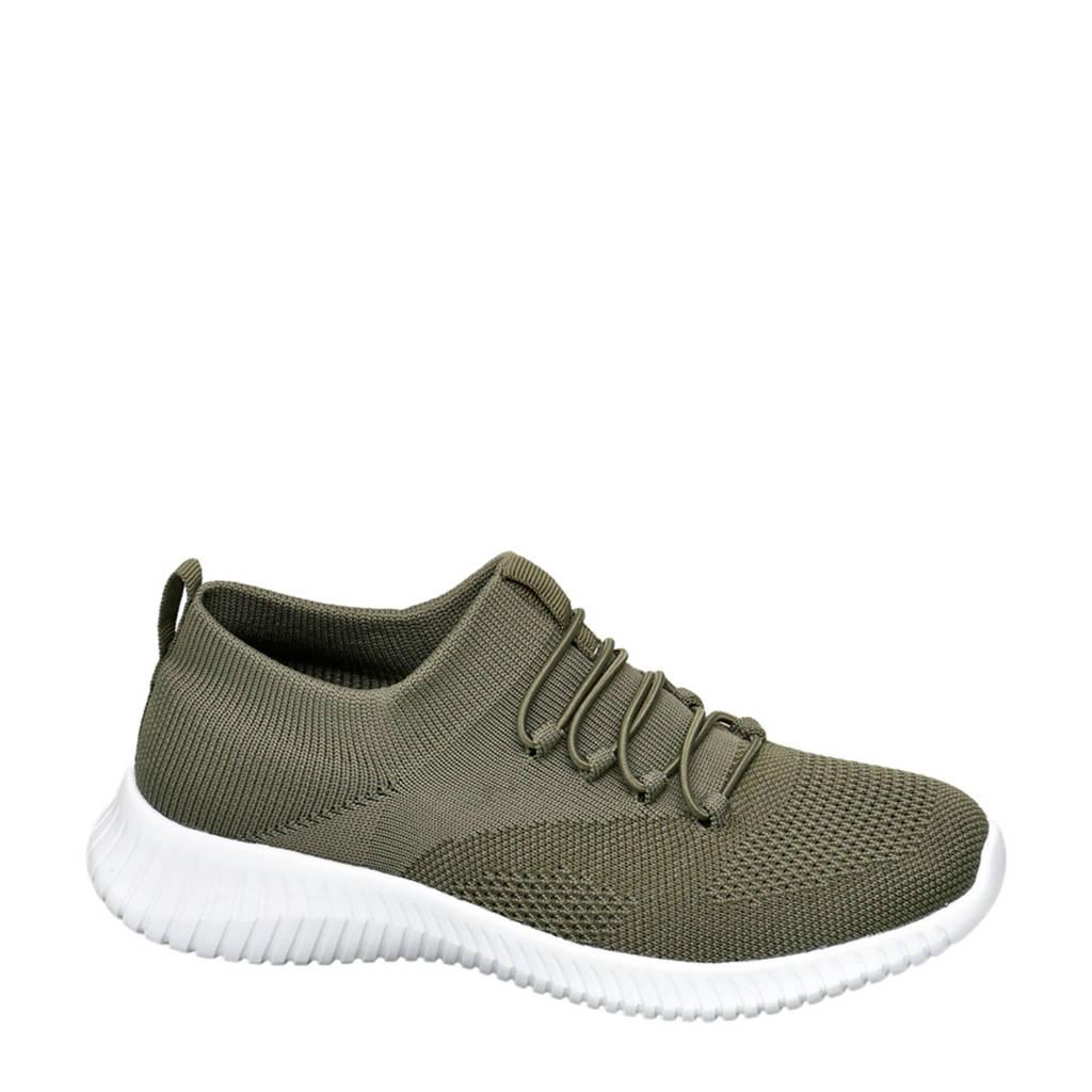 Venice   slip-on sneakers groen, Groen