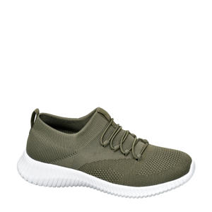 slip-on sneakers groen