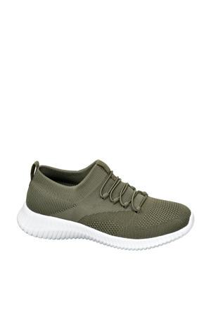 slip-on sneakers groen