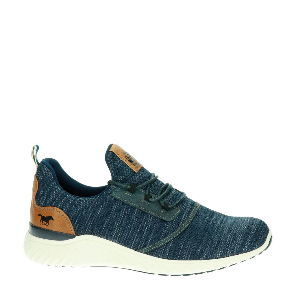 Mustang   sneakers blauw, Blauw