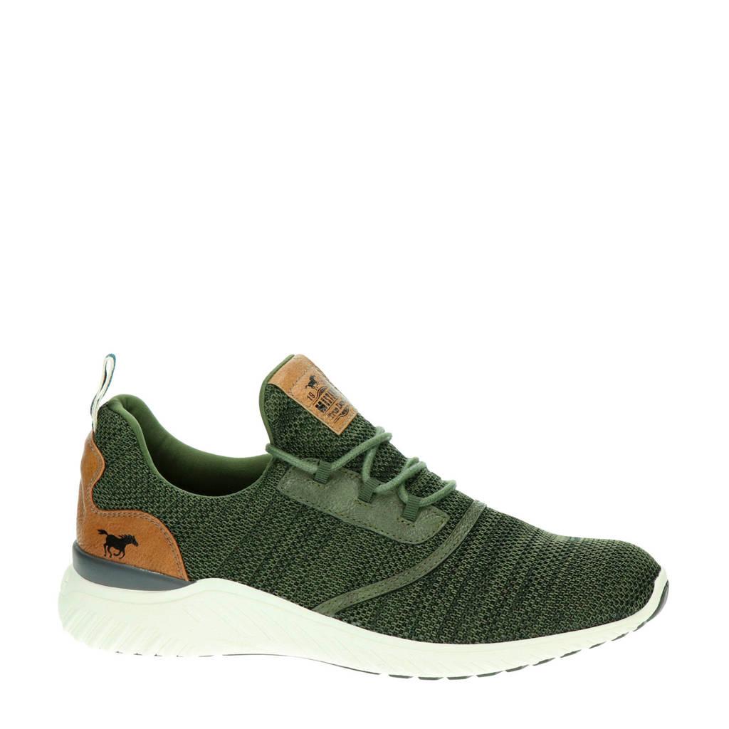 Mustang   sneakers groen, Groen/Kaki