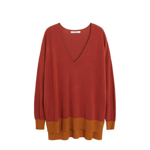 Violeta by Mango trui rood