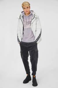 C&A hoodie met printopdruk grijs, Grijs