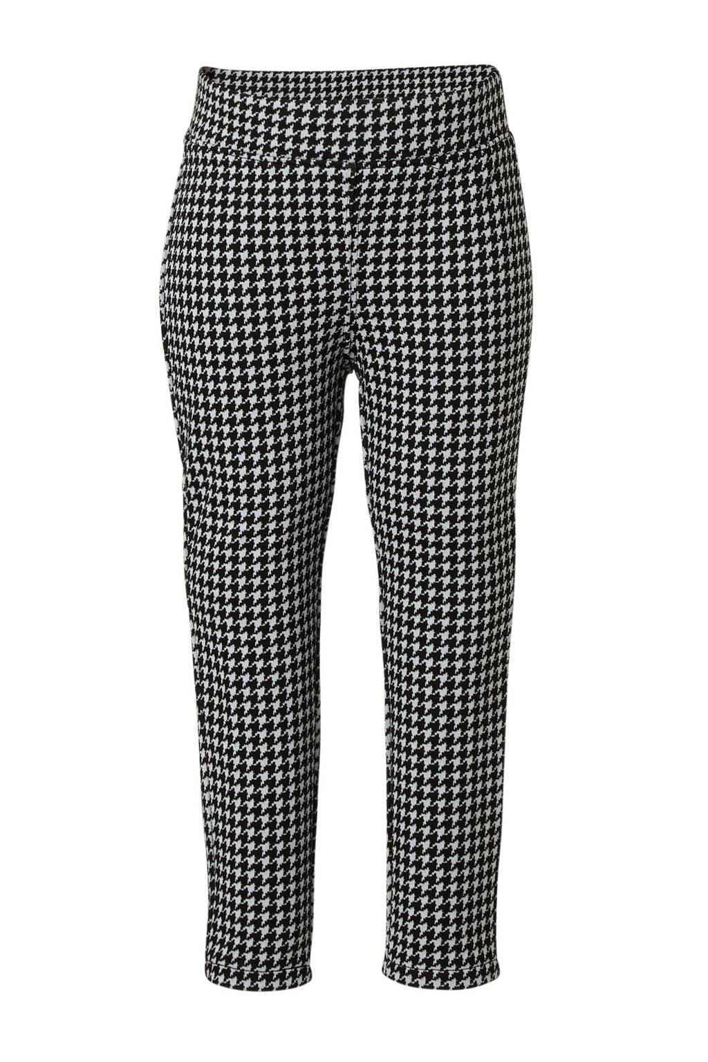 C&A Palomino legging met pied-de-poule zwart/wit, Zwart/wit