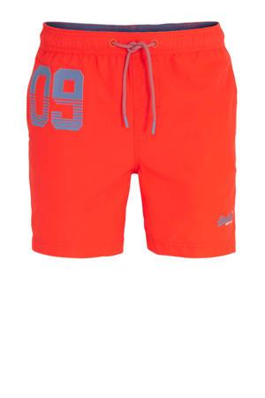 zwemshort neon oranje