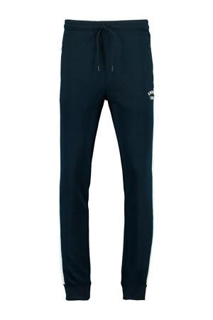 regular fit joggingbroek dark blue