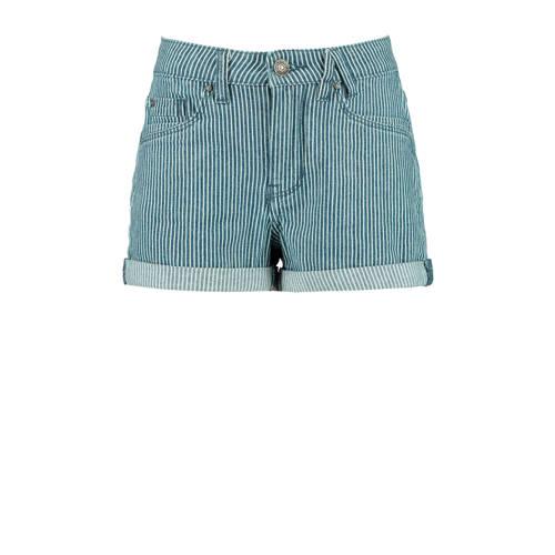 America Today Junior gestreepte jeans short light