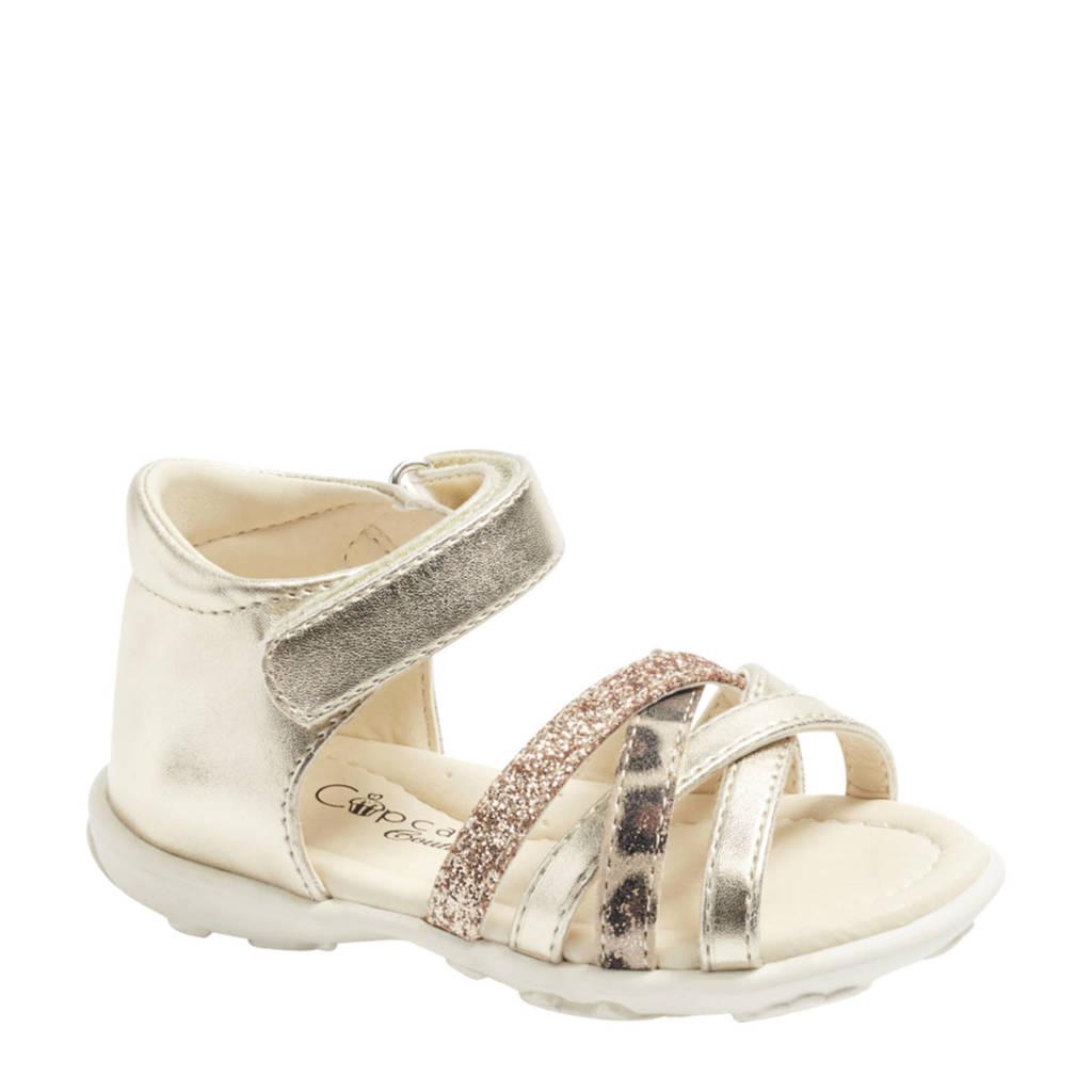 Cupcake Couture   sandalen goud/panterprint, Goud