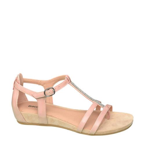 Graceland sandalen roze