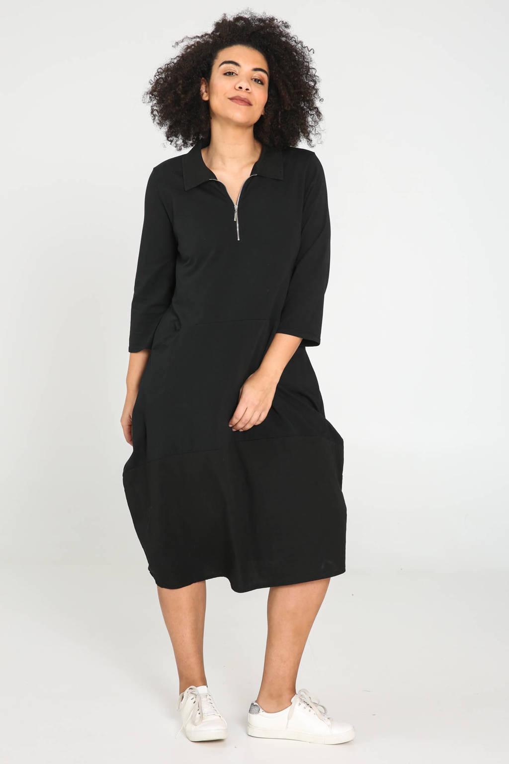 Paprika jurk zwart, Zwart