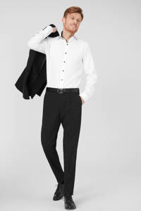 C&A Angelo Litrico slim fit overhemd wit, Wit