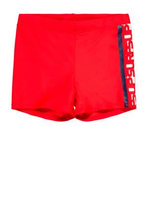 zwemboxer rood