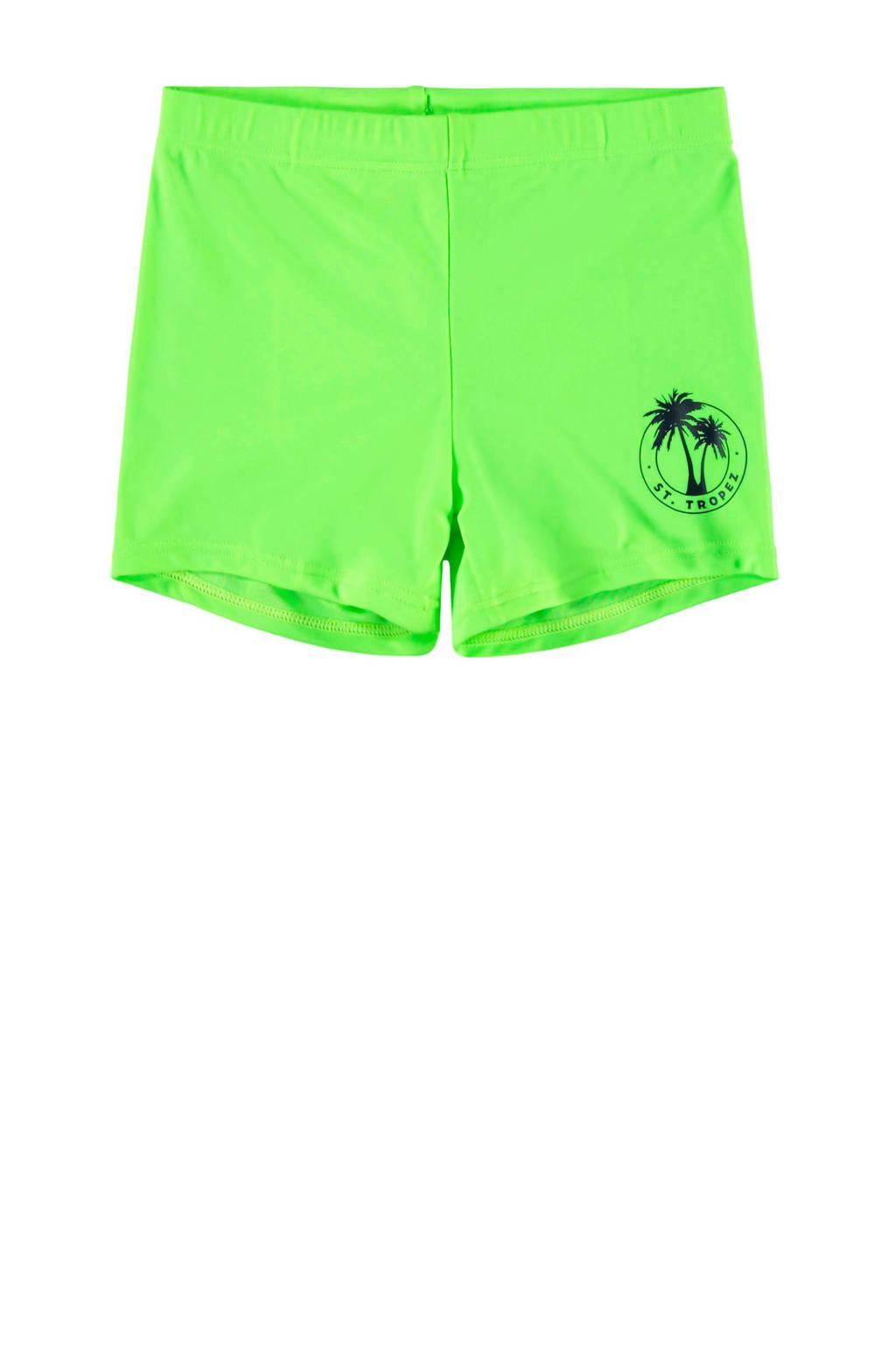 NAME IT KIDS zwemboxer neon groen, Neon groen