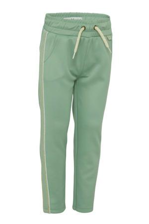 sweatpants groen/goud