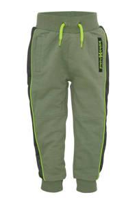Koko Noko   joggingbroek donkergroen/groen/zwart, Donkergroen/groen/zwart
