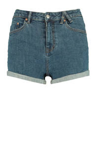 America Today high waist jeans short blauw, Blauw