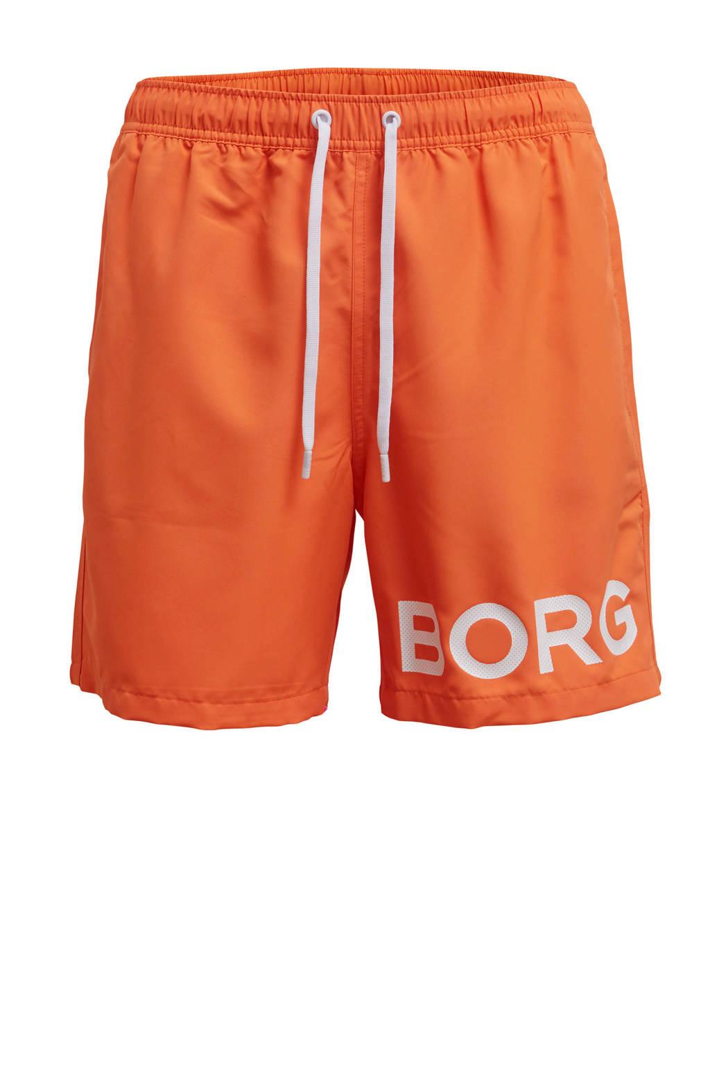 Björn Borg zwemshort Sheldon oranje, Oranje
