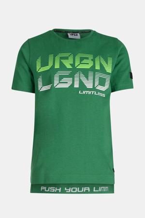 T-shirt Noah met printopdruk groen