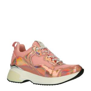 Nowra  chunky sneakers roze/metallic