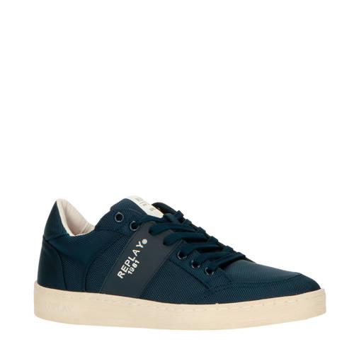 REPLAY Fern sneakers blauw