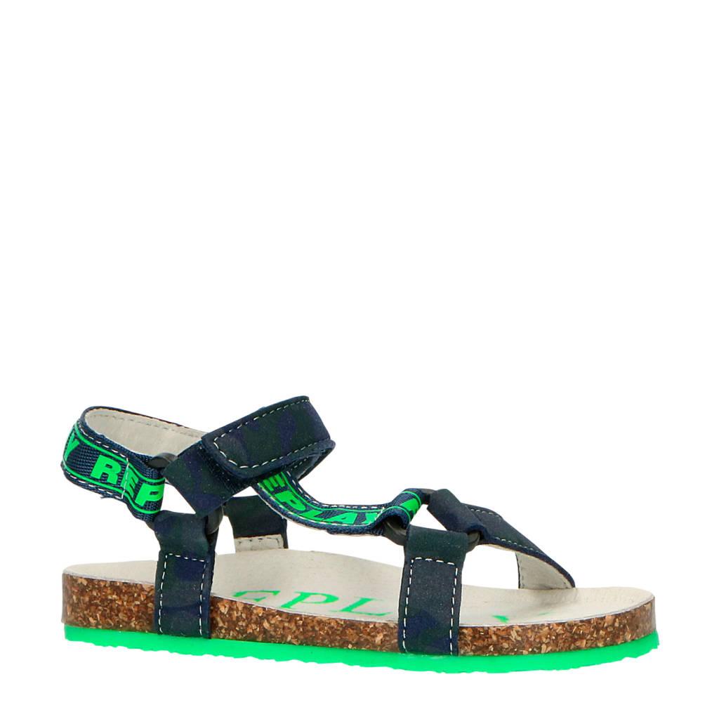 REPLAY Aden  sandalen blauw/groen, Blauw/groen