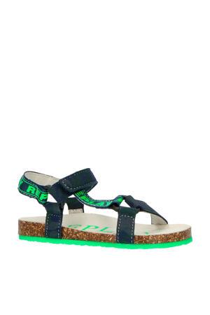 Aden  sandalen blauw/groen