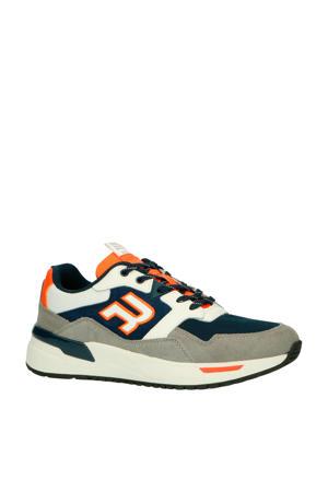Kentfields  suède sneakers blauw/grijs