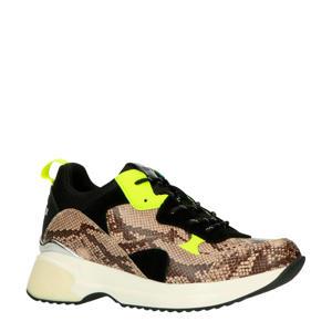 Weyburns  chunky sneakers slangenprint