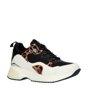 Lynne  chunky sneakers zwart/panterprint