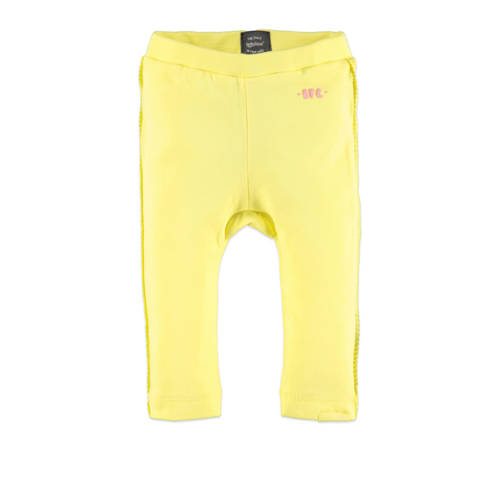 Babyface baby regular fit broek geel