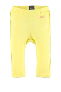 Babyface baby regular fit broek geel, Geel