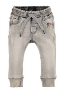 Babyface regular fit jeans grijs stonewashed, Grijs stonewashed