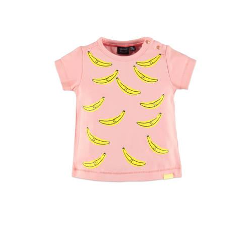Babyface regular fit T-shirt met all over print ro