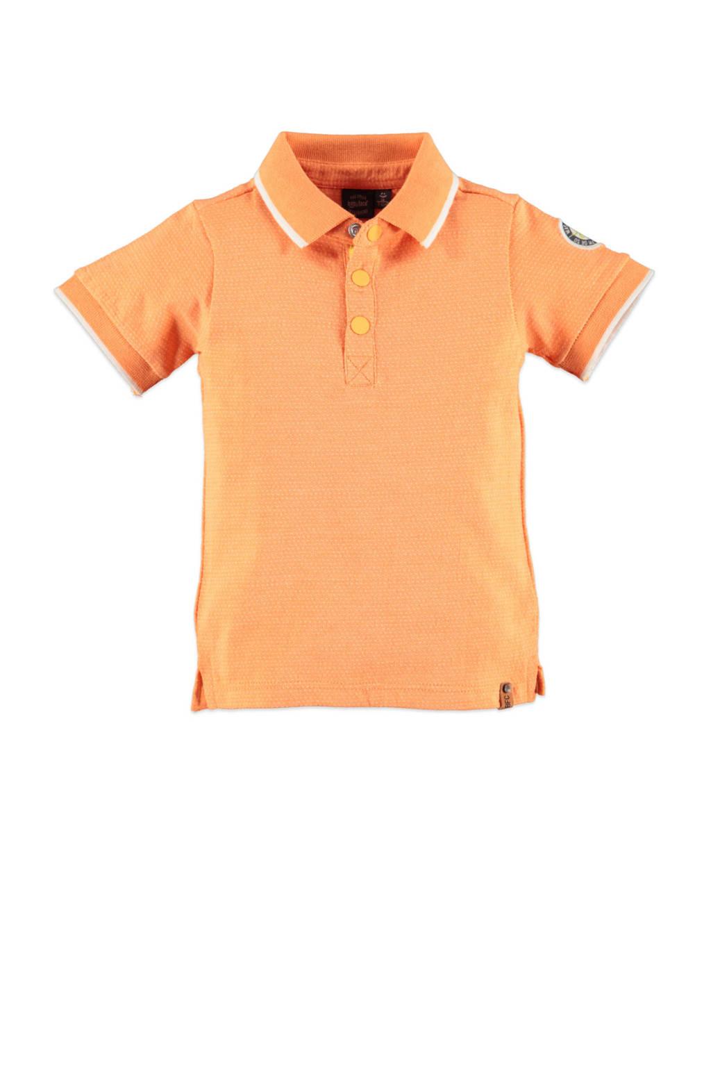 Babyface polo oranje/wit, Oranje/wit