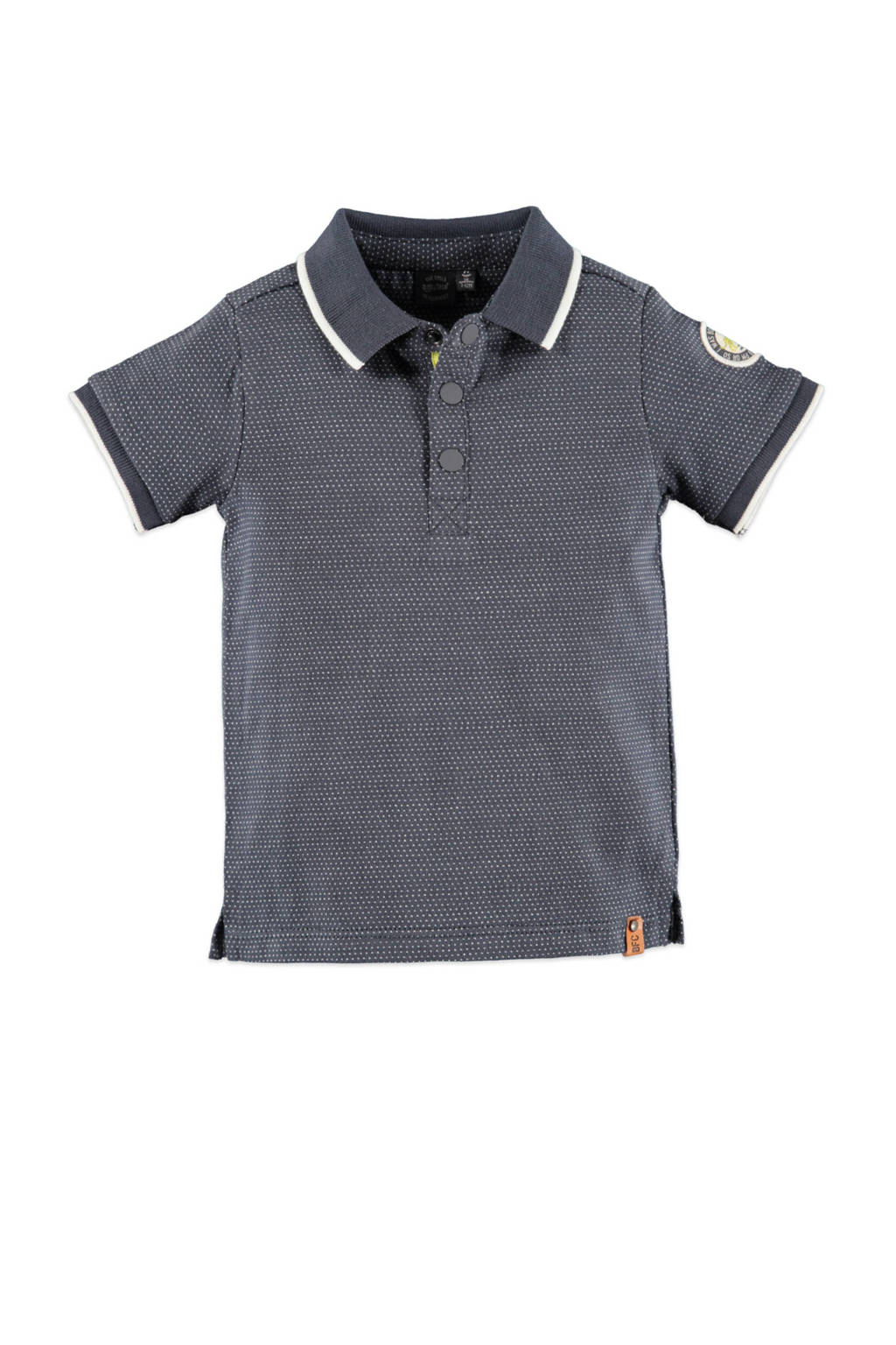 Babyface polo antraciet/wit, Antraciet/wit